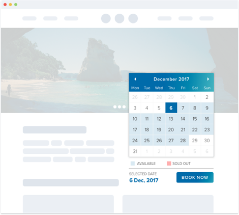 Tour Operator Booking Engine