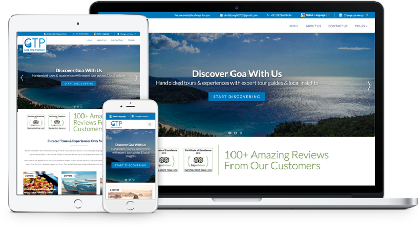Vacation Labs – Travel Website and Booking Engine