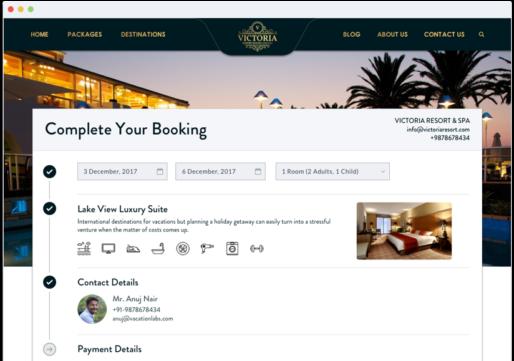 Hotel Website Builder