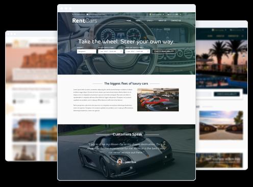 Rental Website Builder