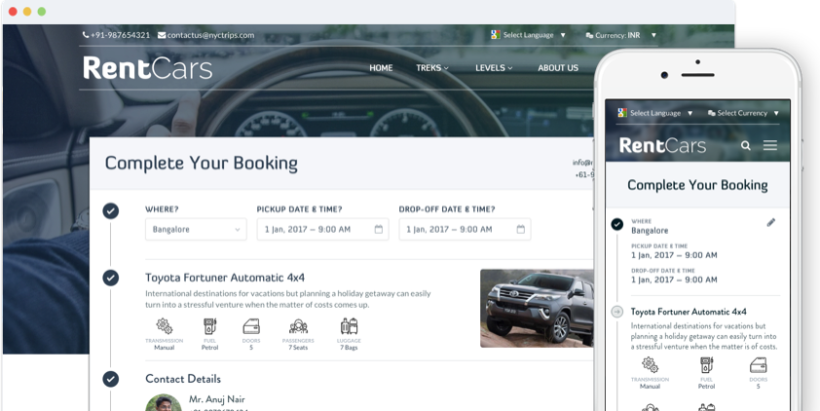 Rental Booking Engine