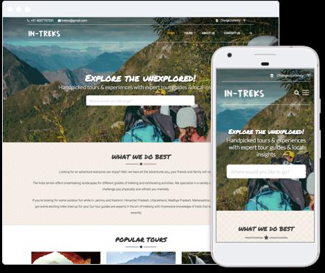 Adventure Website Template
