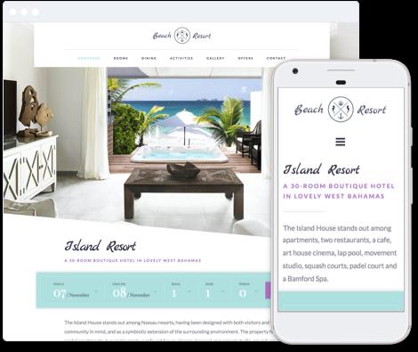 Haven - Hotel Website Template