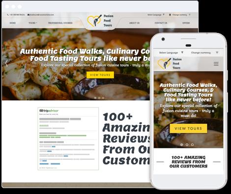 Food & Nightlife Template