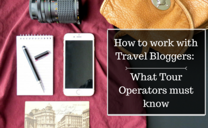 working with travel bloggers