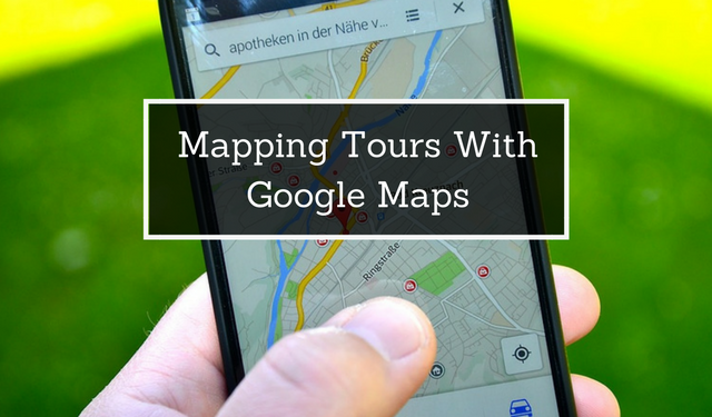 tour maps for customers and tour guides