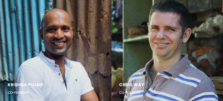 Krishna Pujari and Chris Way Co-founders of RTT