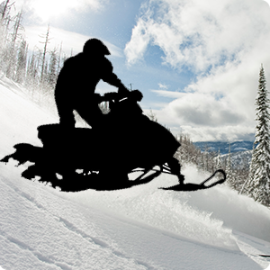Snowmobilling