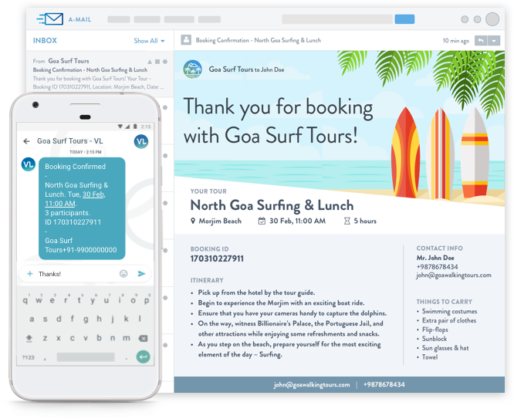 Tour Operator Booking Engine