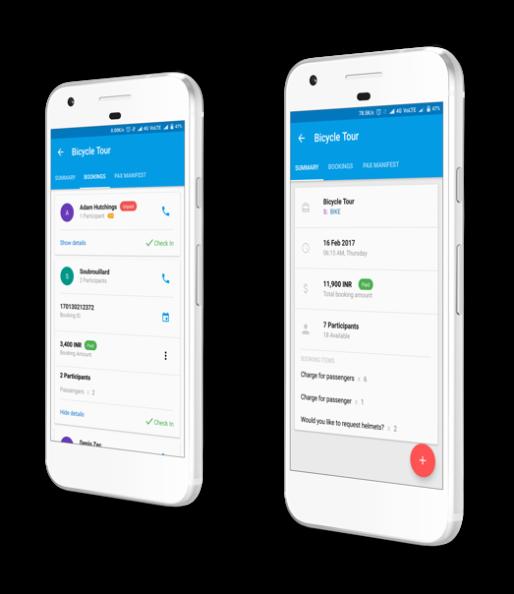 Tour Operator Mobile App