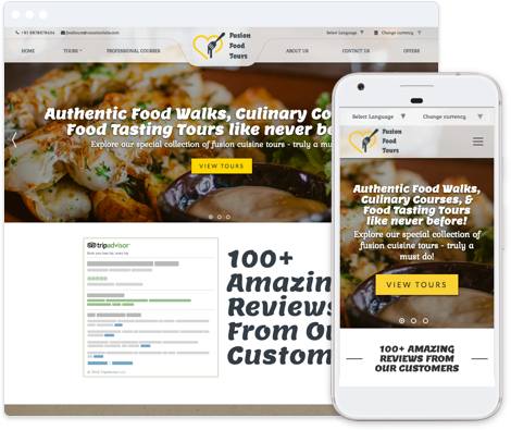 Food & Nightlife Template