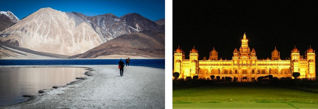 Ladakh, Traveler, Travel, Nature, Leh, Landscape, Mysore Palace, Architecture, Illuminated, Night