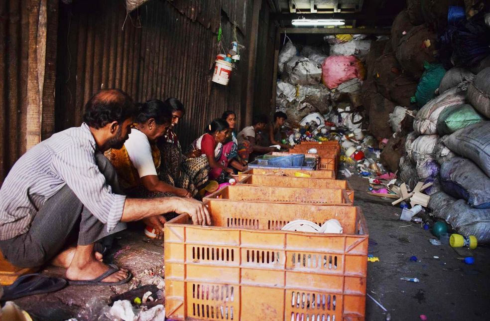 80 percent of Mumbai's solid waste is recycled within Dharavi-RTT