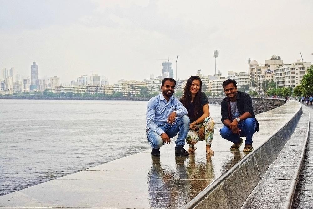 Few from RTT team enjoying the charms of monsoon and Mumbai-RTT