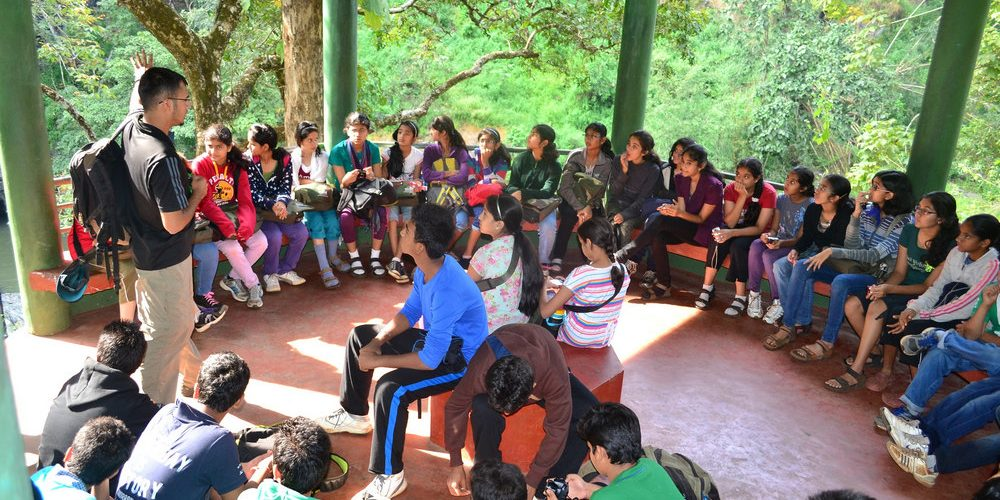 Its a special treat for kids to be in open classrooms - FoliageOutdoors