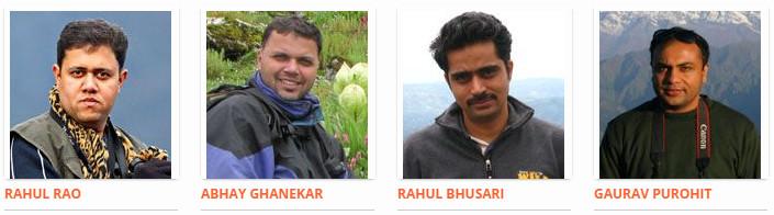 Rahul Bhusari, Rahul Rao, Abhay Ghanekar and Gaurav Purohit - Partners, Foliage Outdoors
