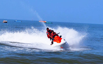 The Master Behind Watersports In Goa - India's Sunshine Capital-Atlantis Watersports